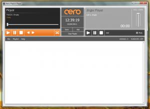 Aero Playlist Player 2.0 - náhled