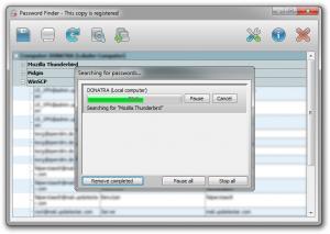UpdateStar Password Finder 7.0 - náhled