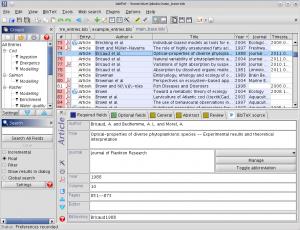 JabRef 4.3.1 - náhled