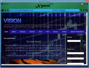 Xymos 2.0 - náhled