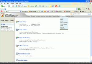IMail Server 2006.2 - náhled