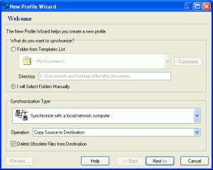 SmartSync Pro 2.11 - náhled