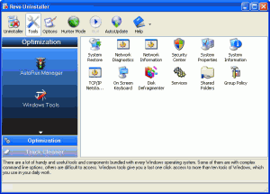 Revo Uninstaller Free 2.0.1 - náhled