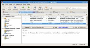 Spicebird 0.7.1 Beta - náhled