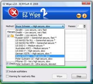 EZ Wipe 2.9.1 - náhled