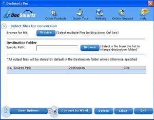 Docsmartz PDF Conversion 6.1 - náhled