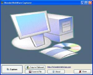WonderWebware Screen Capturer - náhled