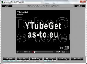 YTubeGet 0.0.2.4 - náhled