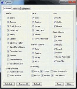 JFRemover 1.0.1.0 - náhled