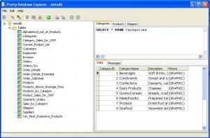 Pretty Database Explorer 2.0.0.183 - náhled