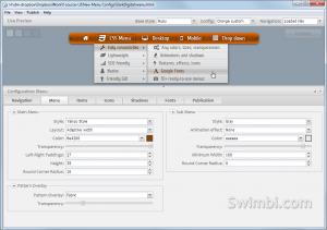 Swimbi - Swift Menu Builder 2.1.1 - náhled
