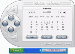 Skin Clock 1.9 - náhled