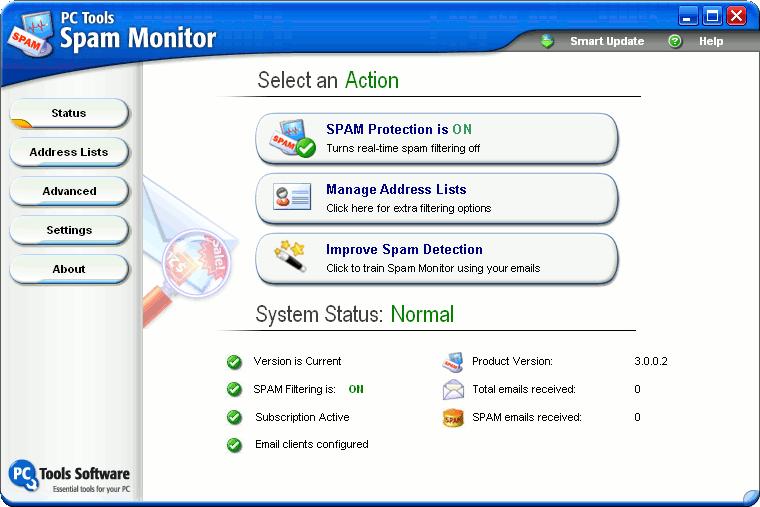 Spam Monitor 4.0.1.44 - Plná licence - 1 licence