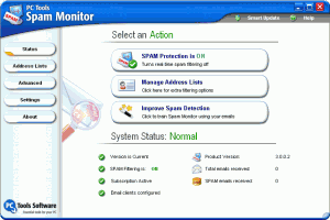 Spam Monitor 4.0.1.44 - náhled