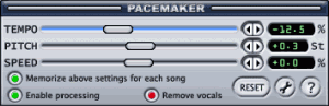 PaceMaker 2.6 - náhled
