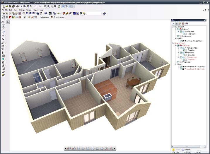 Ashampoo home designer pro ihned zdarma ke sta en slune Architecture home learning courses