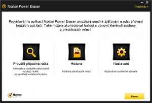 Norton Power Eraser 3.2.0.23 - náhled