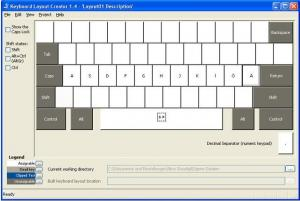 The Microsoft Keyboard Layout Creator 1.4 - náhled
