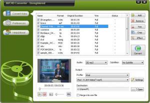 Oposoft AVCHD Converter 7.7 - náhled