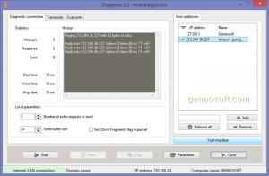 DiagAxon 2.3 - náhled