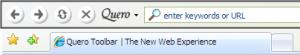 Quero Toolbar 5.0.0.4 - náhled