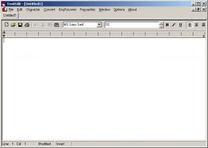 TextEdit 1.9.2 - náhled