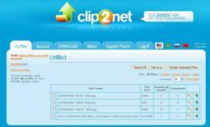 Clip2Net 2.3.3 - náhled