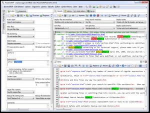 PowerGREP 5.1.7 - náhled