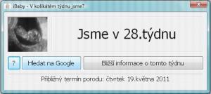 iBaby - V kolikátém týdnu jsme 1.1 - náhled