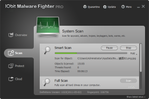 IObit Malware Fighter 4.3.1.2873 - náhled