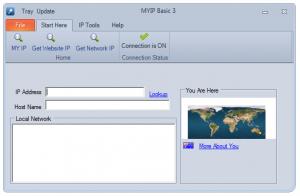 MYIP Basic 4.0.0.0 - náhled