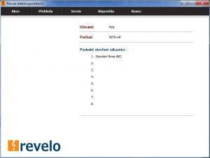 Revelo 1.0 - náhled