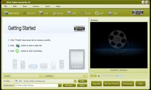 4Free Video Converter 3.8 - náhled