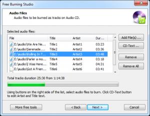 Free Burning Studio 5.1.1 - náhled