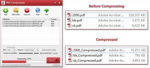 PDF Compressor 3.0 - náhled
