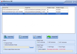PDFdu Rotate PDF 1.3 - náhled