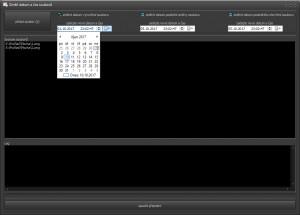Datum a čas souboru - náhled