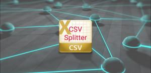 CSV Splitter - náhled