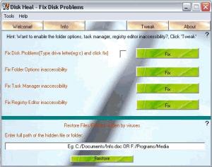 Disk Heal 1.37 - náhled