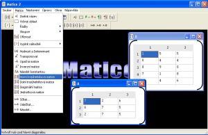 Matice 2 2.2.1