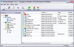 Startup Manager 2.4.2 - náhled