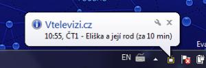 Vtelevizi.cz - Připomínač