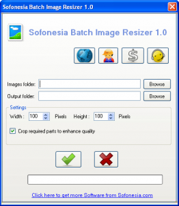 Batch Image Resizer 1.0 - náhled