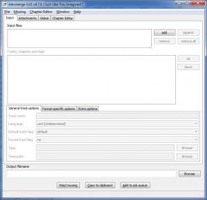 MKVToolnix 14.0.0 - náhled