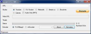 FLV Convertor 4.01 - náhled