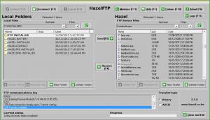 HazelFTP 3.7.6 - náhled