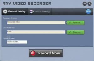 Any Video Recorder 1.0.4 - náhled