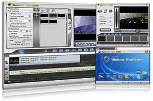 SuperDVD Video Editor 1.8 - náhled