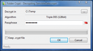 Folder Crypt 3.6.7020 - náhled