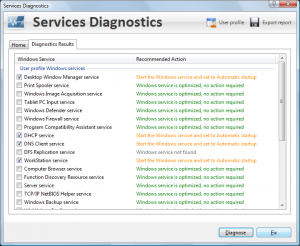 PC Services Optimizer 2.2.385 - náhled